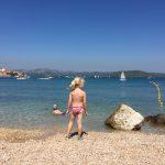 Die Regatta startete im Hafen von Betina